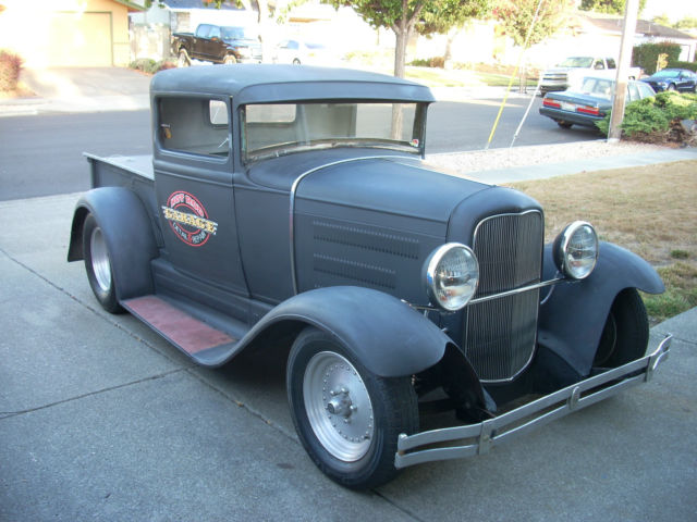 1931 model a ford hot rod chopped top rat rod pickup pro street. Black Bedroom Furniture Sets. Home Design Ideas