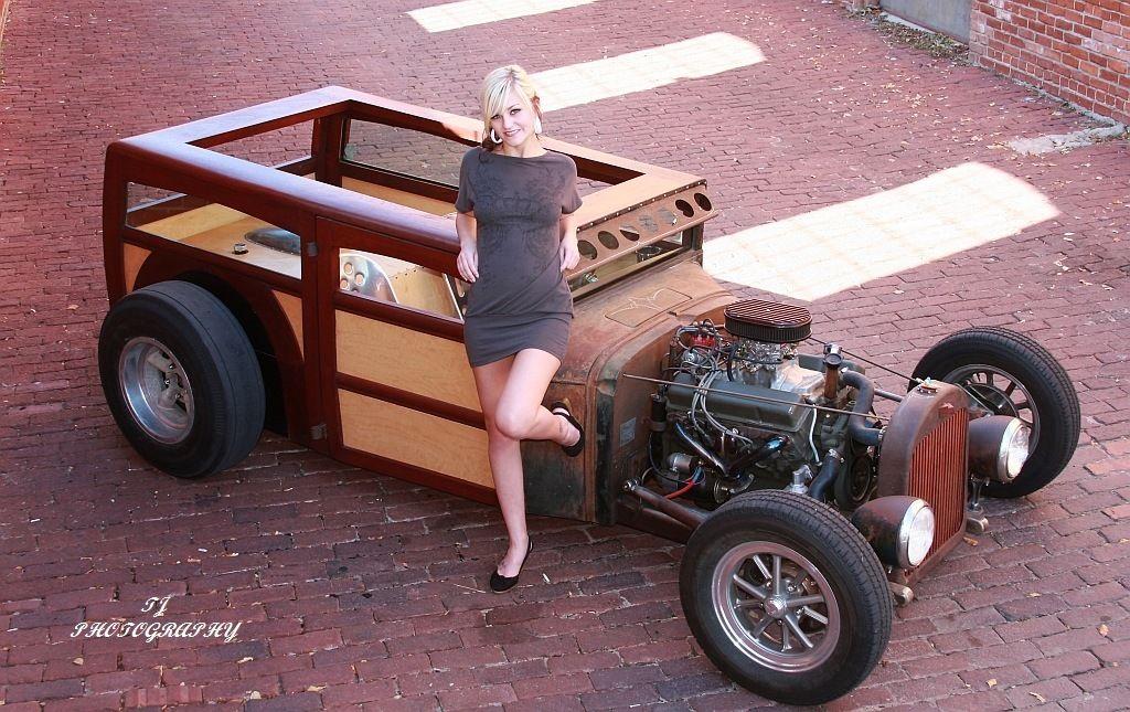 1932 Chevy Woody Rat Rod Custom Chopped Channeled