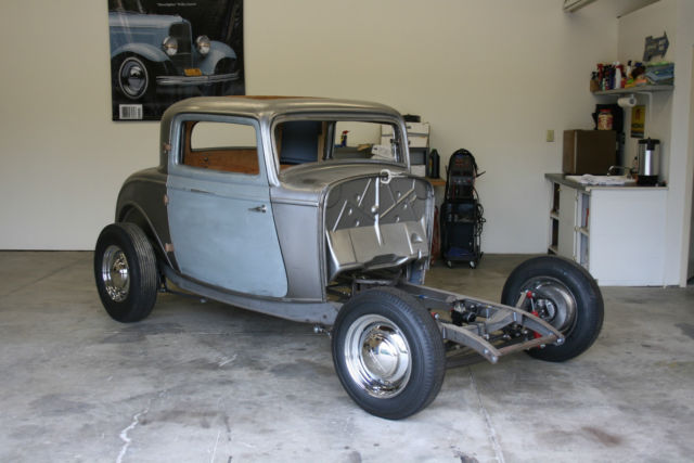Cars For Sale In Ri >> 1932 Ford 3 Window Coupe Steel Brookville Body With Chassis Roller Project 33 34