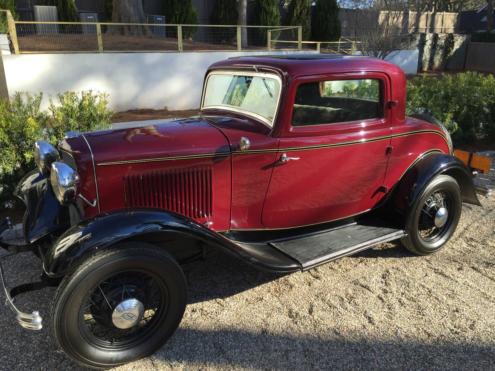 1932 ford 3 window excellent condition all original for 1932 3 window ford