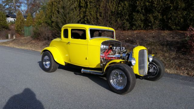 1932 ford 5 window coupe all steel american graffiti clone for 1932 ford 5 window coupe steel body for sale