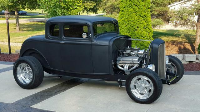 1932 ford 5 window coupe, street rod, pro street, hot rod, pro touring, restorod