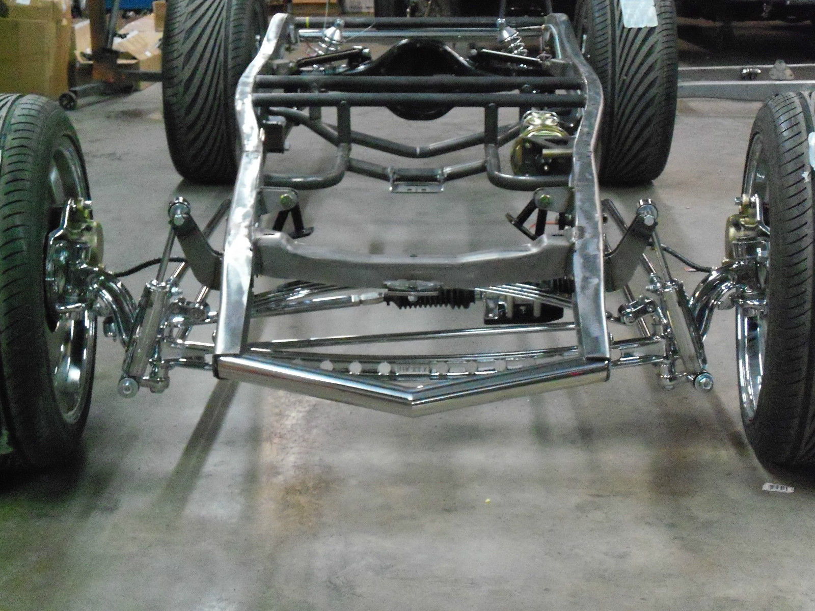 1932 Ford chassis frame street rod hot rod