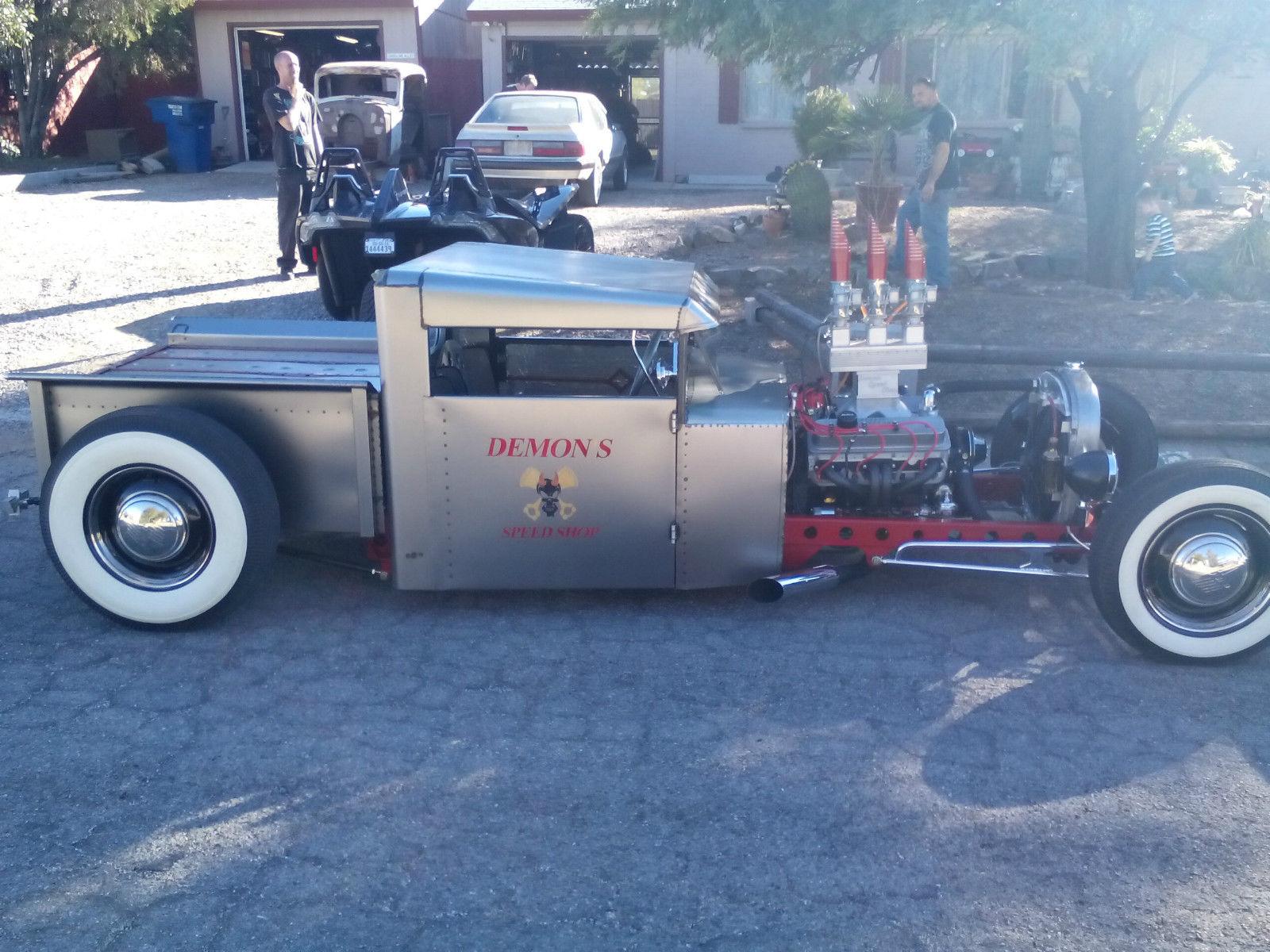 1932 ford hot rod pickup rat rod shop truck gasser custom show car. Black Bedroom Furniture Sets. Home Design Ideas