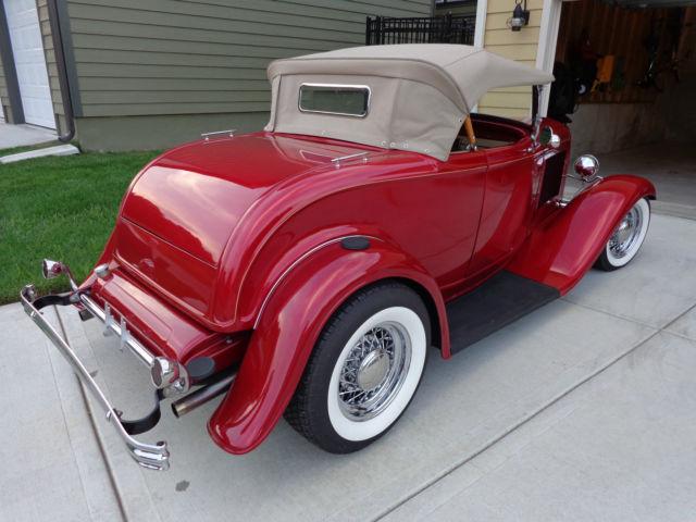 1932 Ford Roadster Hot Rod Street Rod Full Fendered Rumbleseat Sharp