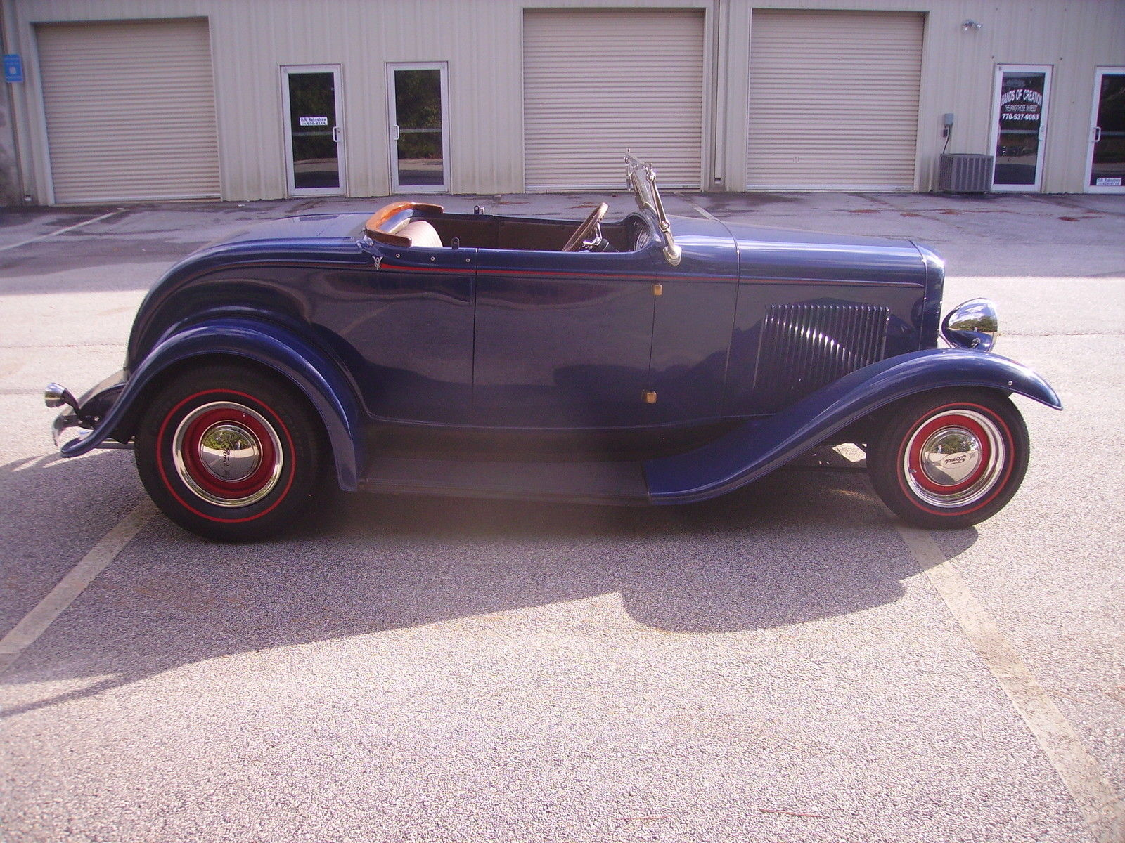 1932 Ford Roadster With Top 302 V8 5 Speed Tremec Trans  Be