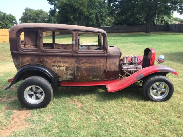 1932 Ford Sedan Four Door Fordor Body Only Gasser Rat