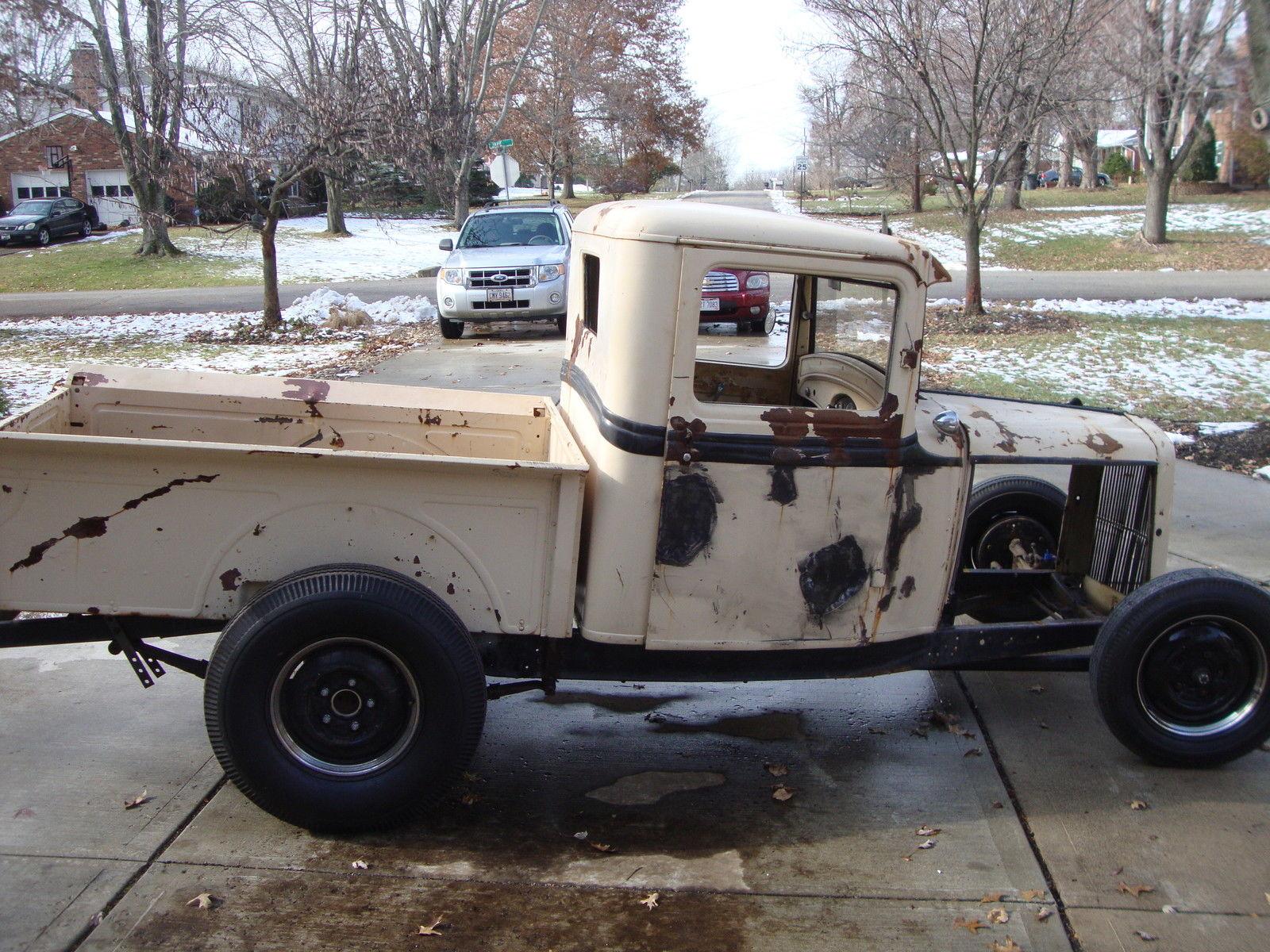 1932 Ford Truck Pickup Hot Rod Street Rod Deuce Steel ...