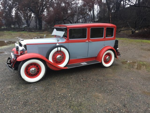 1932 graham paige 4 door sedan chevy 350 v8 turbo 400 for 1932 chevrolet 4 door sedan