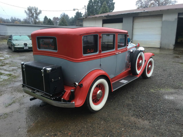1932 graham paige 4 door sedan chevy 350 v8 turbo 400 for 1932 chevy 4 door sedan