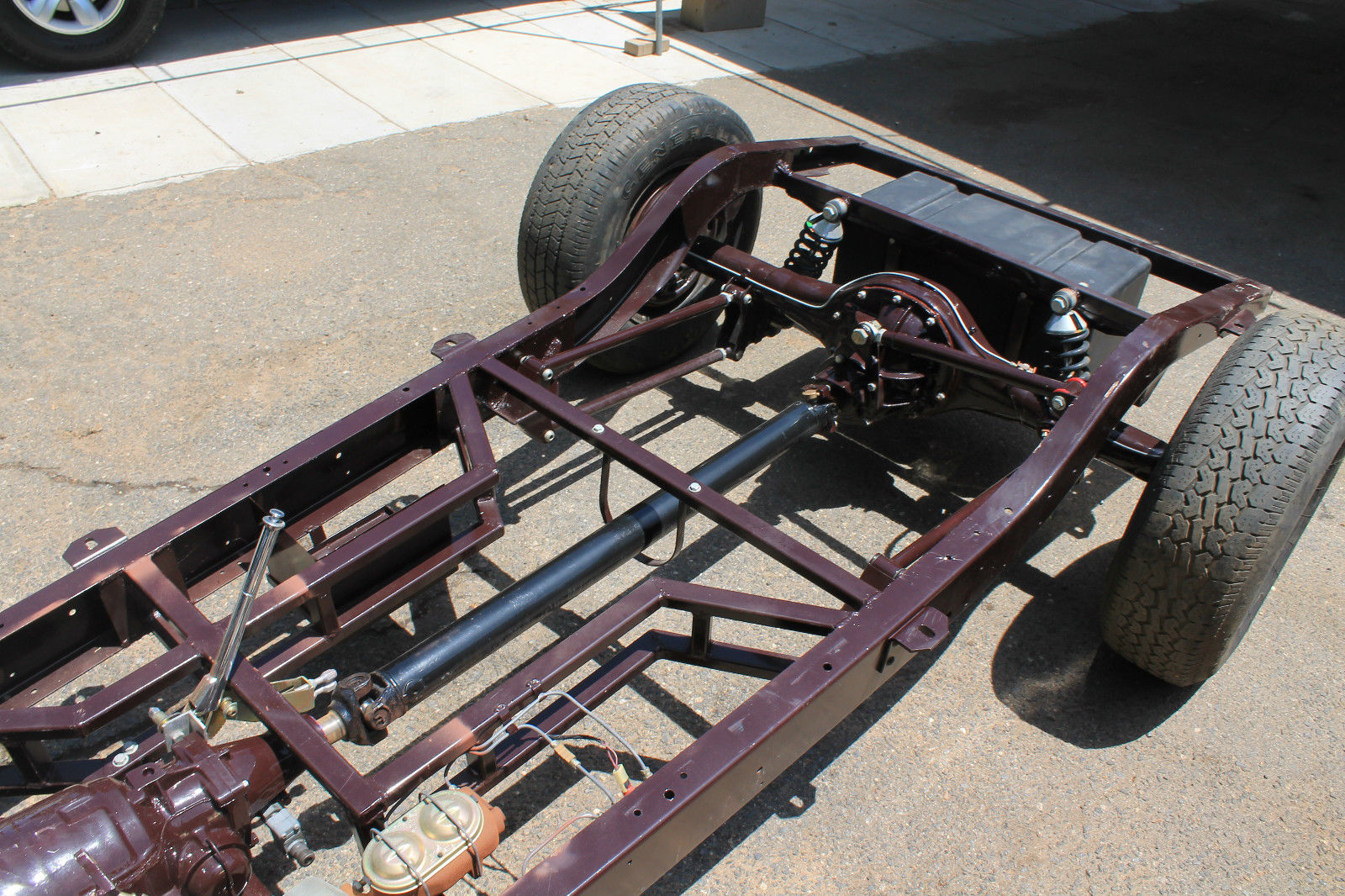 1932 hot rod rolling chassis street rod