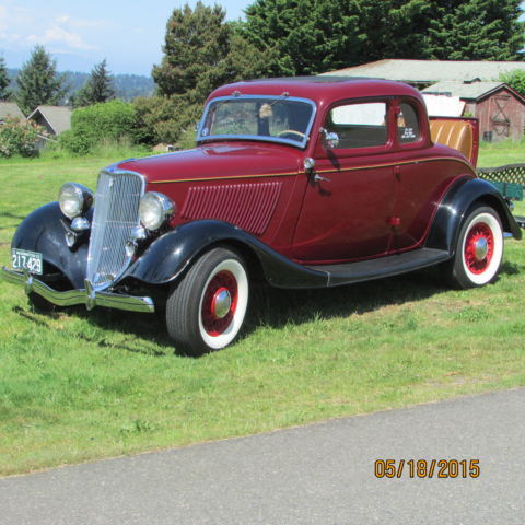 1933 ford 5 window coupe with deluxe trim for 1933 ford 5 window coupe