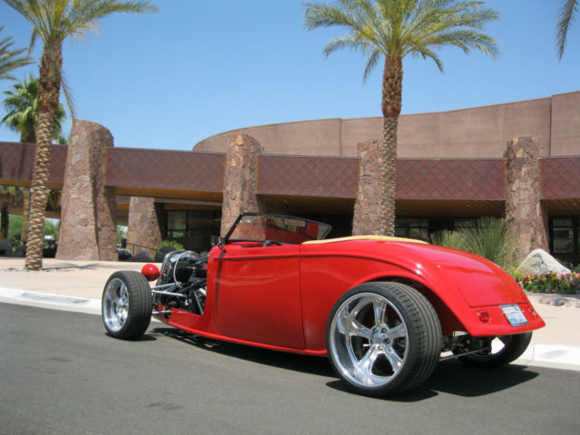 1933 ford hot rod body and chasis by factory five racing pro street show car for sale in las. Black Bedroom Furniture Sets. Home Design Ideas