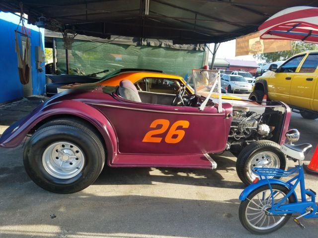 1933 Ford Roadster Hot Rod V8 302 Motor For Sale Or Trade