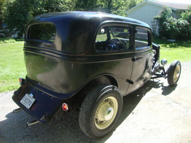 1933 Ford Tudor Sedan Henry Ford Steel Hotrod 1934 1932
