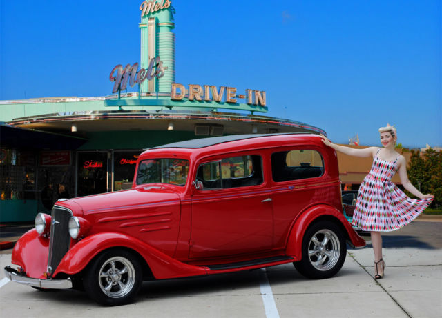 1934 chevy ford 2 door sedan real steel body for 1934 chevrolet 2 door sedan