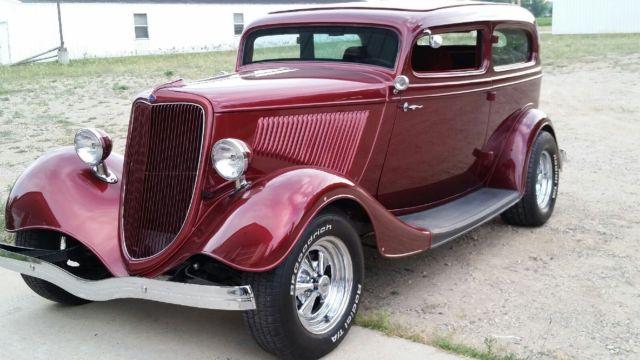 1934 ford 2 door sedan all steel body and fenders