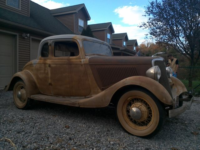 1934 ford 5 window coupe all original barn find never for 1934 ford five window coupe for sale