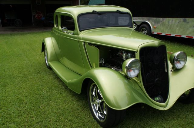 1934 Ford 5 Window Coupe Steel Body