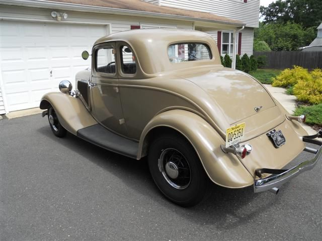 1934 ford 5 window coupe flathead v 8 hotrod real steel for 1934 ford five window coupe for sale
