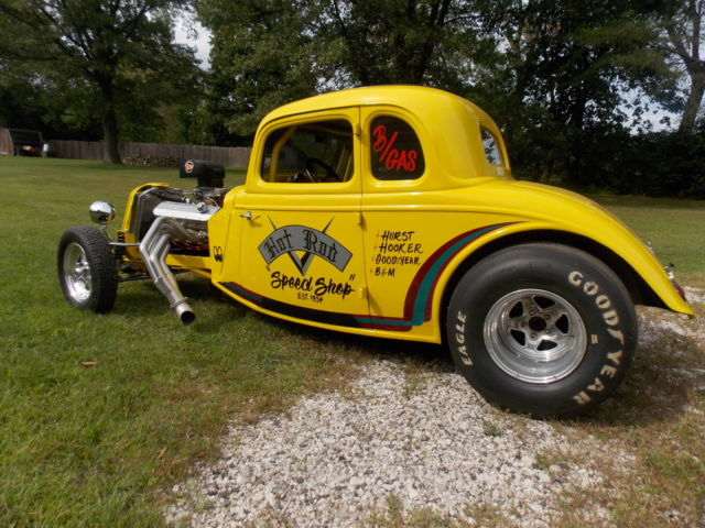1934 Ford Coupe, Hot Rod, Street Rod, Race Car, All Steel Body 32 Ford, 33 Ford