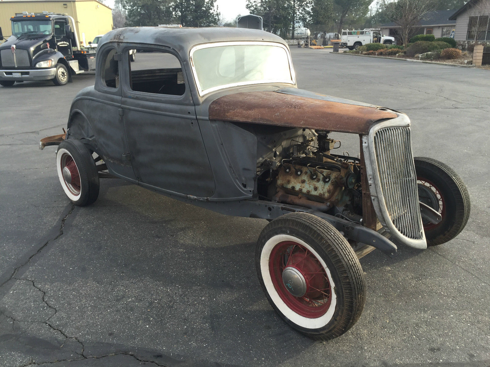 1934 ford five window coupe hot rod rat rod for 1934 5 window coupe for sale