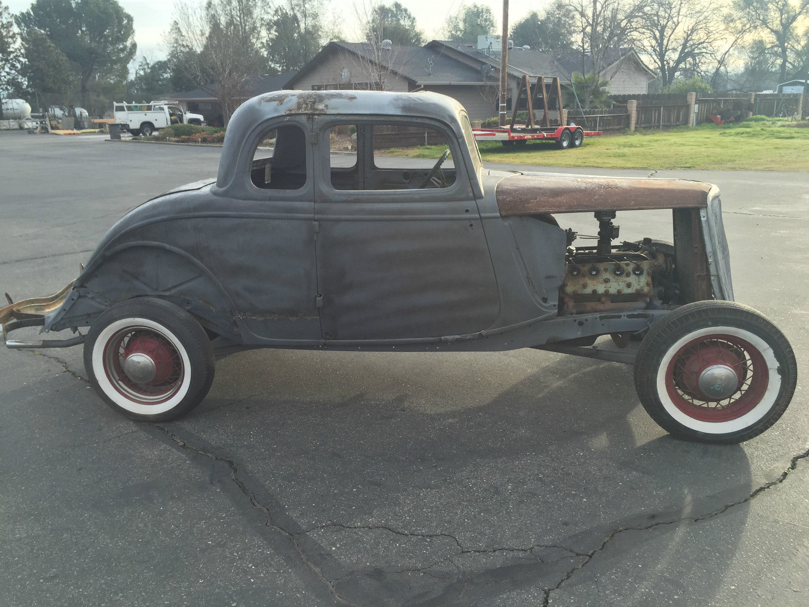 1934 ford five window coupe hot rod rat rod for 1934 ford coupe 5 window