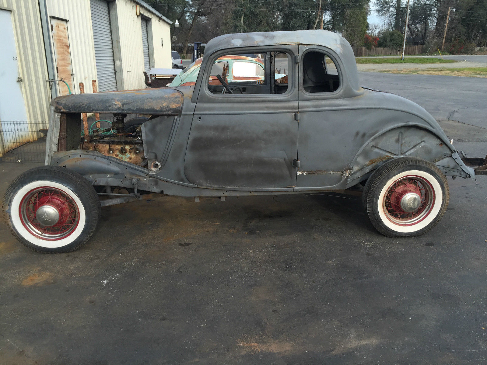 1934 ford five window coupe hot rod rat rod for 1934 ford five window coupe for sale