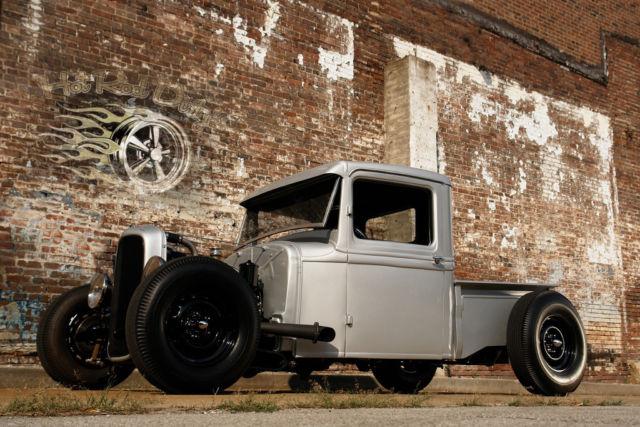 Ford Hotrod Pickup Truck Flathead V T Rat Street Traditional Hot Rod Scta