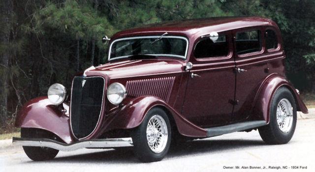 1934 ford street rod hot rod antique sedan fordor ford for 1934 ford 4 door for sale