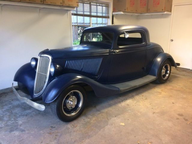 1934 ford three window coupe hot rod street rod for 1934 ford 5 window coupe street rod