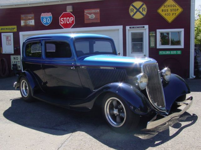 1934 ford two door sedan street rod all steel for 1934 ford 2 door sedan for sale