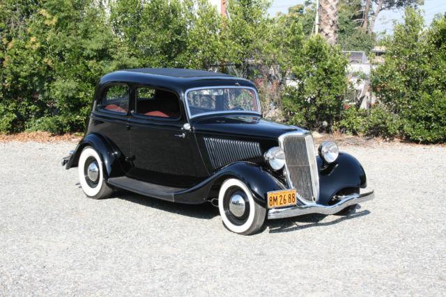 1934 ford victoria deluxe traditional hot rod 2 door for 1933 ford 4 door sedan