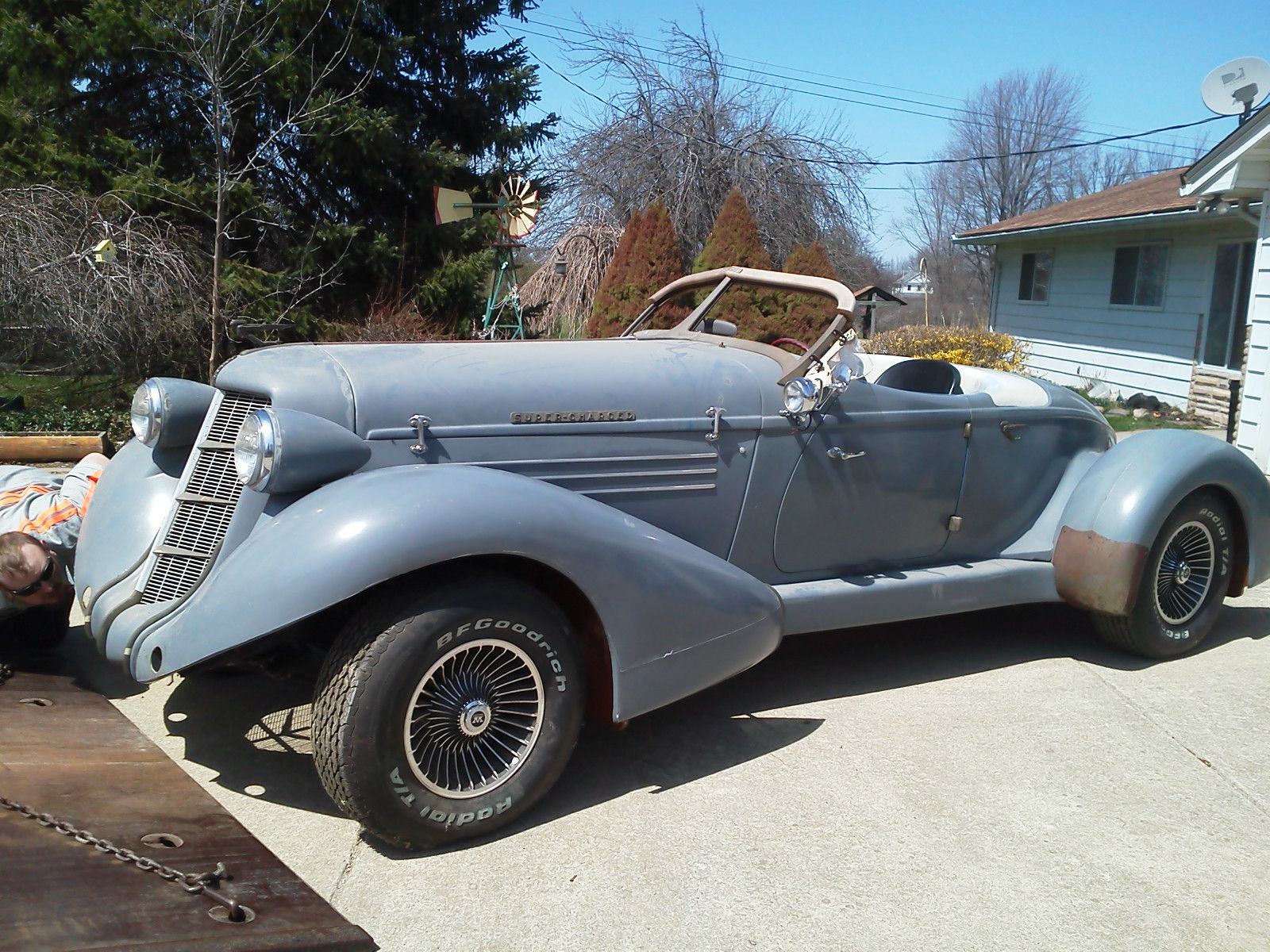 Speedster Kit Car For Sale