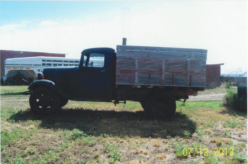 1935 chevrolet 1 ton pickup truck 8208 miles for sale in billings montana united states. Black Bedroom Furniture Sets. Home Design Ideas