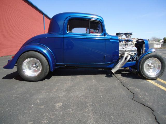 1935 Chevy 3 Window Coupe Street Rod Big Block Custom Hot