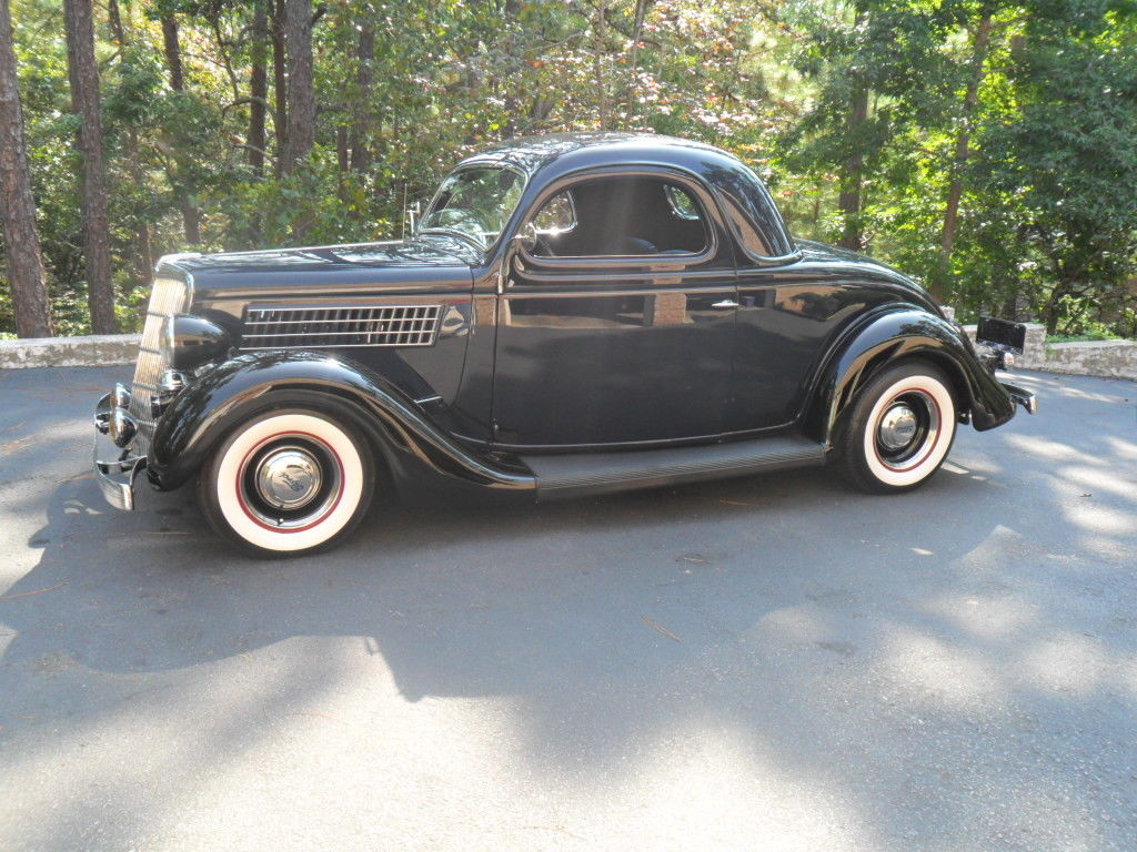 1935 ford 3 window coupe classic street rod real steel for 1935 ford three window coupe