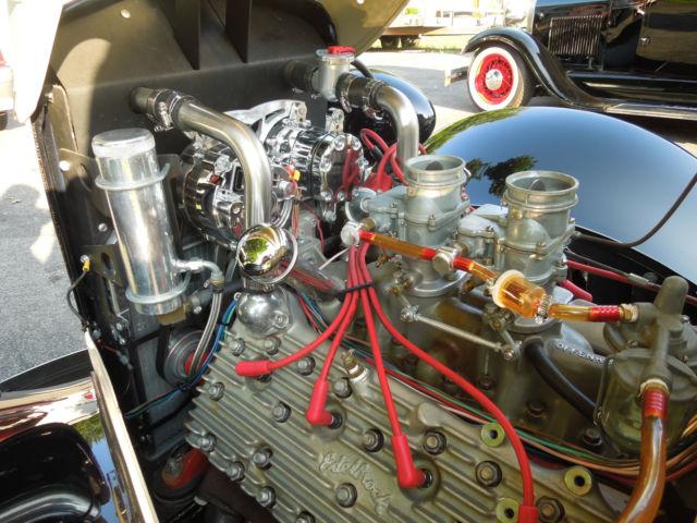 Ford Slantback Hot Street Rod French Flathead Coupe
