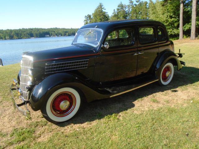 1935 ford trunk back sedan very clean estate car for 1935 ford 4 door sedan