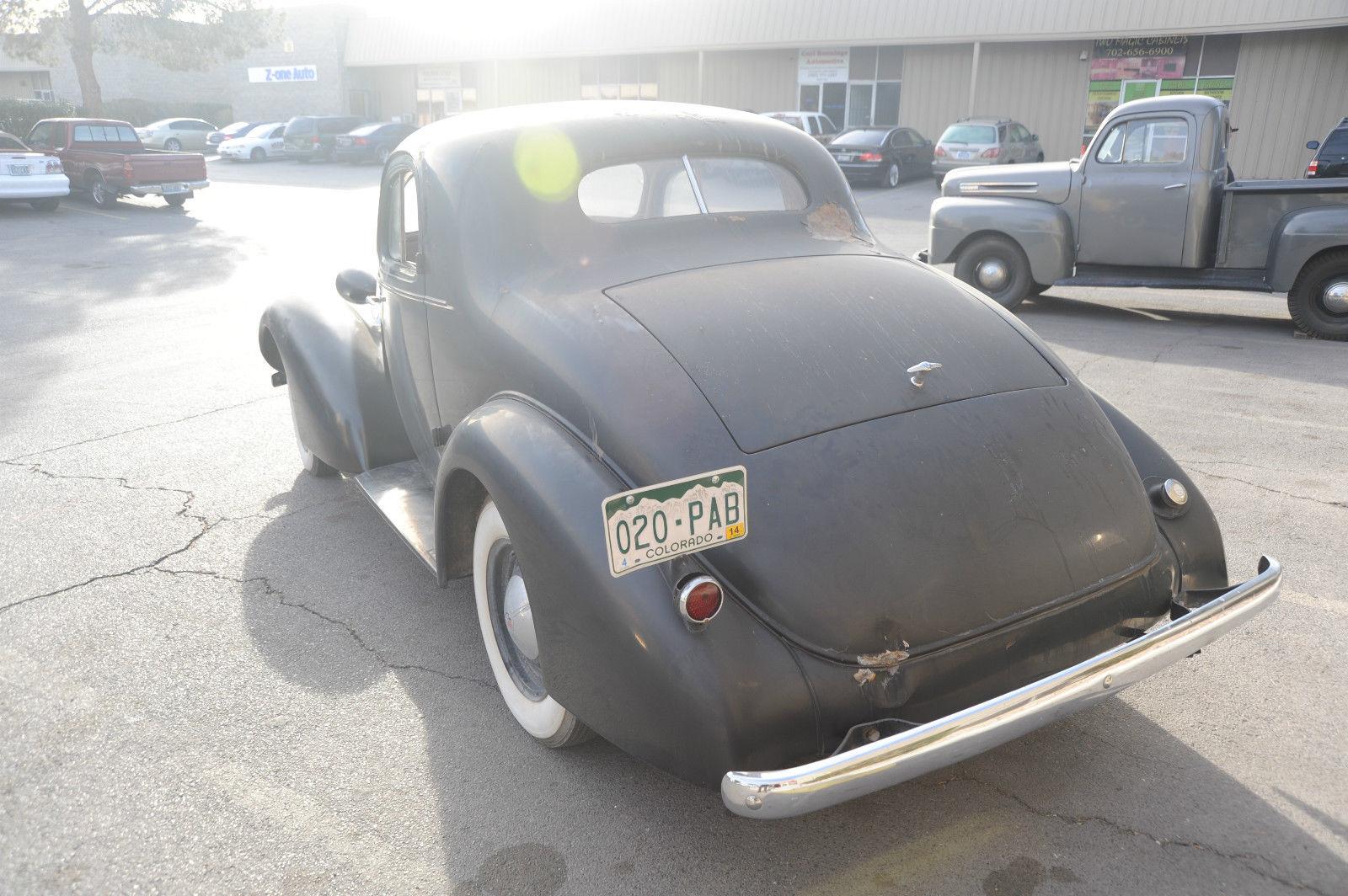 1935 Oldsmobile Coupe Suicide Doors Original Barn Find