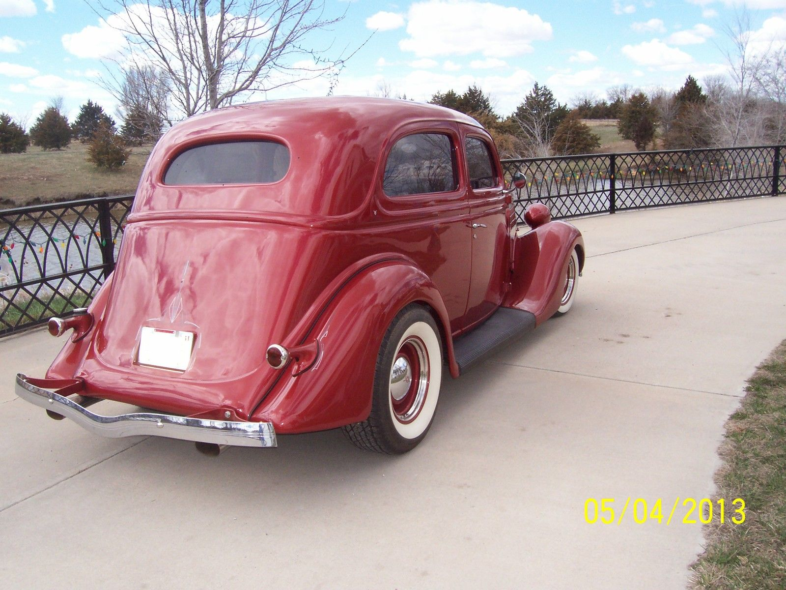 1935 tudor sedan slant back for 1936 ford 2 door slant back