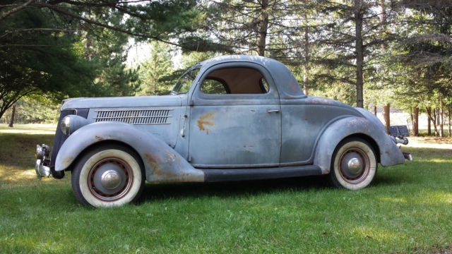 1936 36 ford 3w 3 window coupe hot rod old car vintage for 1936 3 window coupe