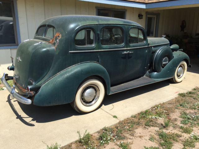 1936 buick century sedan factory side mount car really good original. Black Bedroom Furniture Sets. Home Design Ideas