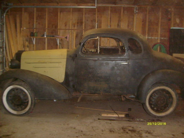 1936 chevrolet standard 5 window coupe for 1936 chevy 5 window coupe