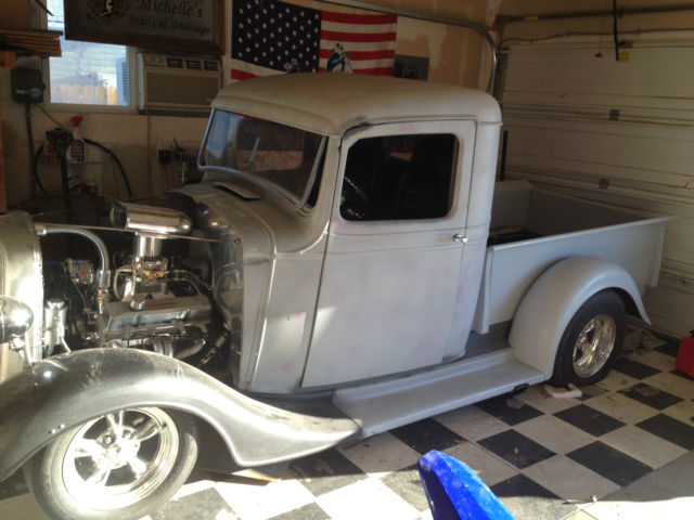 1936 chevy high cab pickup
