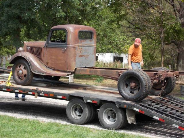 1936 ford 1 1 2 ton truck. Black Bedroom Furniture Sets. Home Design Ideas