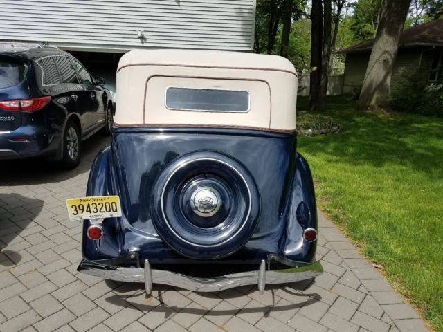 1936 ford 4 door convertible right hand drive. Black Bedroom Furniture Sets. Home Design Ideas