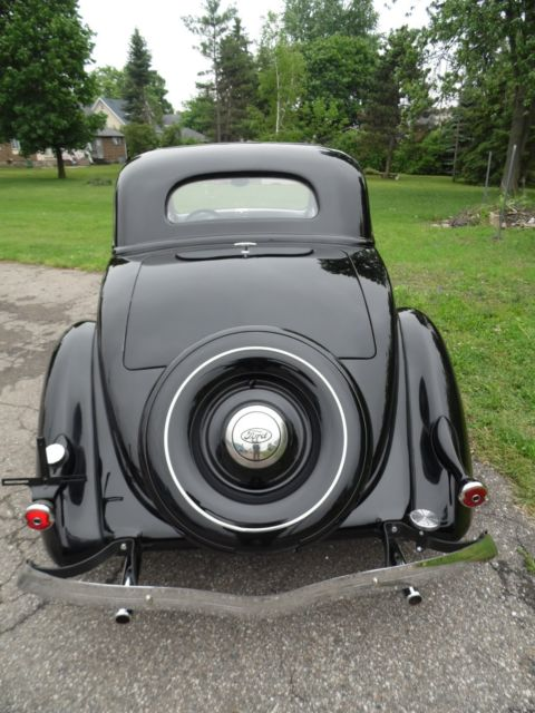 1936 Ford 5 Window Coupe Streetrod 351ci A C Tilt
