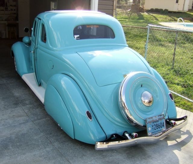 1936 ford coupe custom street rod taildragger for 1936 ford 3 window coupe project for sale