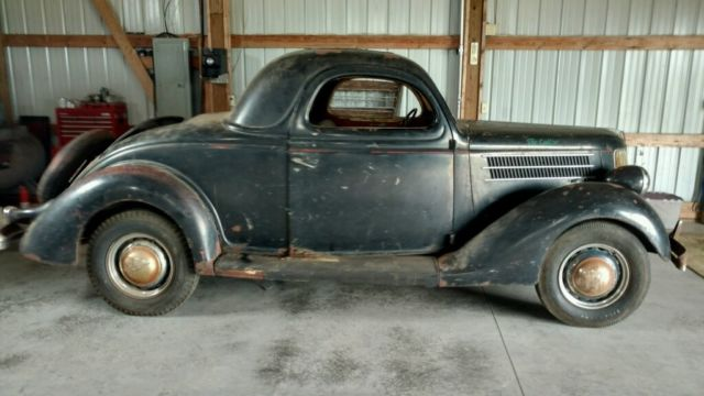 1936 ford original 3 window coupe barn find scta bonneville for 1936 ford three window coupe for sale